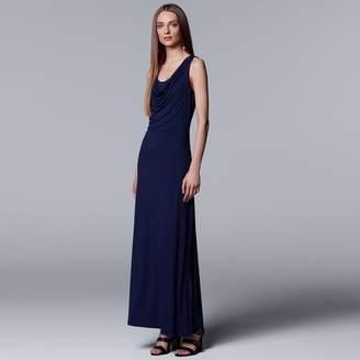 Vera Wang Women's Simply Vera Draped Maxi Dress