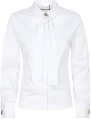 Alexis Tie-Neck Roxanne Shirt