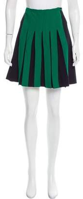 Cédric Charlier Pleated Mini Skirt