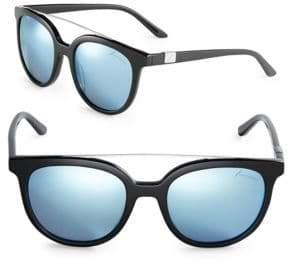 Brian Atwood 54MM Round Bar Sunglasses