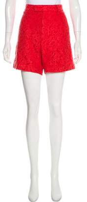 Gucci Lace High-Rise Shorts