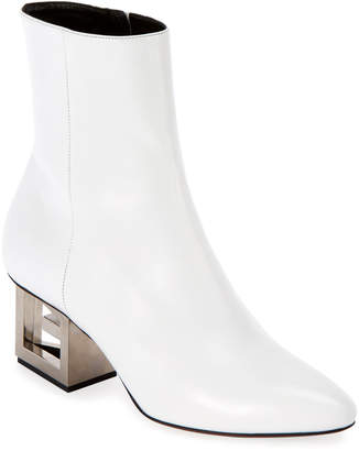 ab2f80d1fece Givenchy Triangle-Heel Ankle Booties