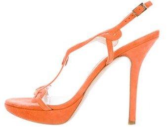 Christian Dior Suede Lattice Sandals