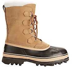 Caribou Lace-Up Suede Snow Boots