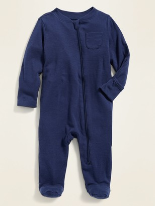 Old Navy Zip-Front Footed One-Piece for Baby