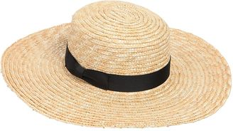 The Spencer Wide Brimmed Boater Hat $166 thestylecure.com