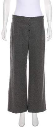 Chanel High-Rise Wool Pants