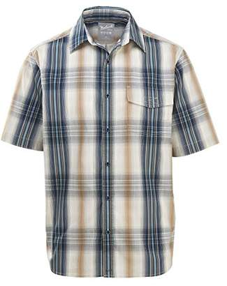 Woolrich Men's Desert View Short Sleeve Modern Fit Shirt