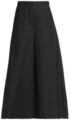Tome Cotton And Tencel-Blend Twill Wide-Leg Pants
