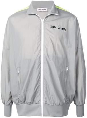 Palm Angels side stripe sports jacket