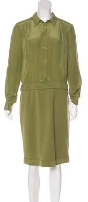 Philosophy di Alberta Ferretti Midi Shirt Dress