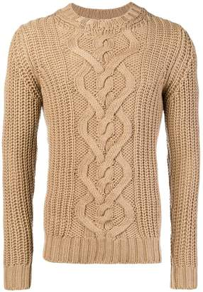 Dondup cable-knit sweater