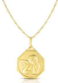 Sphera Milano 14k Italian Angel Necklace