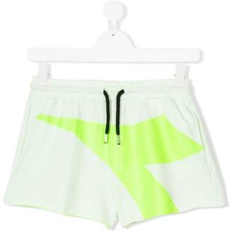 Diadora Junior printed track shorts