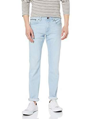 19a0652b at Amazon.co.uk · Tommy Hilfiger Men's Slim Bleecker STR Brunswick Blue  Jeans, Blau 911, 38 W/