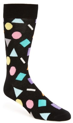 Men's Happy Socks Play Cotton Blend Socks $12 thestylecure.com