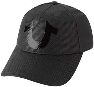 True Religion Straw Front Baseball Cap