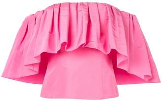 Carolina Herrera off the shoulder blouse
