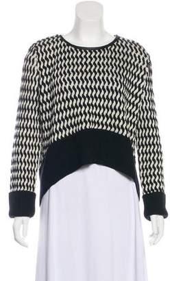 Sass & Bide Merino Wool Hi-Lo Sweater