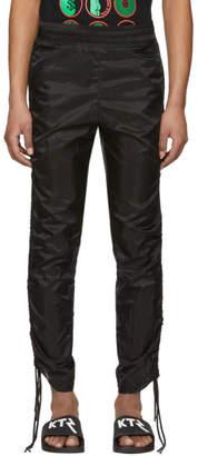 Kokon To Zai Black Drawstring Corded Lounge Pants