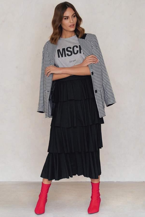 Shein Ruffle Layer Maxi Skirt