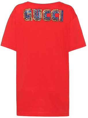 Gucci Printed cotton T-shirt