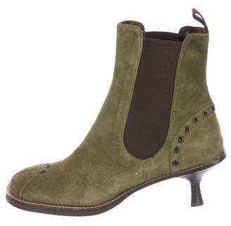 Goffredo Fantini Suede Ankle Boots