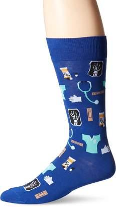 Hot Sox Men's Medical Crew Sock