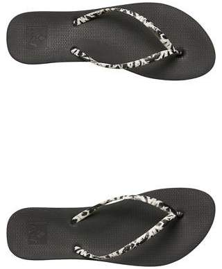 Reef New Women's Womens Escape Lux Nature Thong Rubber Black