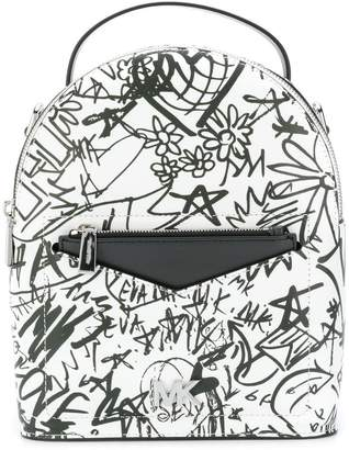 MICHAEL Michael Kors graffiti backpack