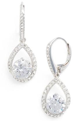 Women's Nadri Cubic Zirconia Pear Drop Earrings $55 thestylecure.com