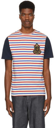 J.W.Anderson Multicolor Panelled Breton Stripe T-Shirt