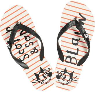 Scotch & Soda Striped Flip Flops Felix the Cat