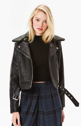 Obey Joey Vegan Leather Jacket