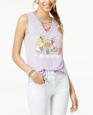 Nickelodeon Love Tribe Juniors' Graphic-Print Tank Top