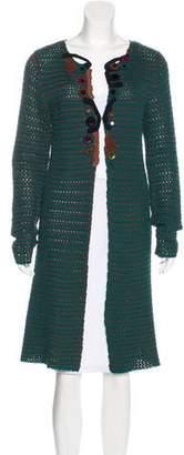 Prada Knit Longline Cardigan