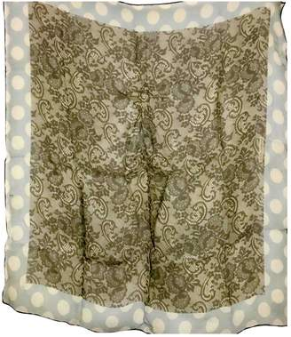Dolce & Gabbana Beige Silk Scarves
