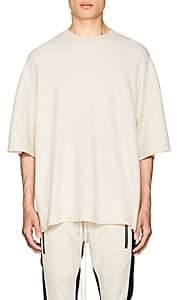 Fear Of God Men's Inside-Out Cotton Boxy T-Shirt-White