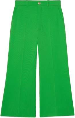 Gucci Stretch viscose culotte pants