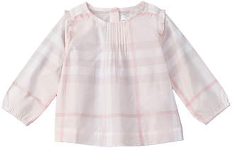 Burberry Girls' Checked Top