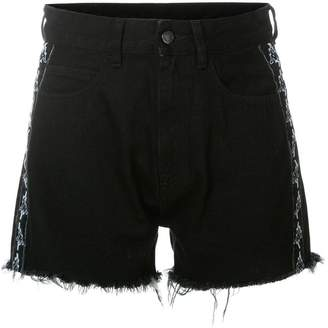 Marcelo Burlon County of Milan frayed shorts