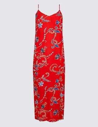 Marks and Spencer Floral Print Slip Maxi Dress