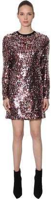 McQ Sequined Mini Dress