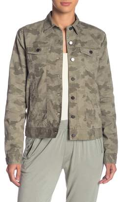 ATM Anthony Thomas Melillo Cotton Camo Jean Jacket