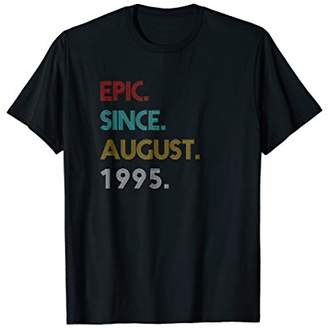 Epic Since August 1995 Vintage - 23th Birthday Gift T-Shirt
