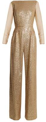 Azzaro Anja sequin-embellished jumpsuit