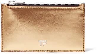 Tom Ford Metallic Leather Cardholder
