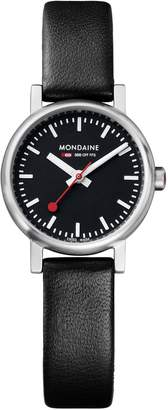Mondaine Women's A658.30301.14SBB Quartz Evo Leather Band Watch