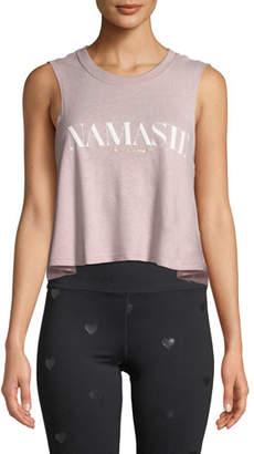 Spiritual Gangster Namaste Cropped Muscle Tank