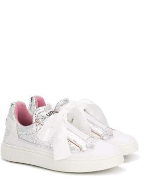 Bumper bow detail sneakers